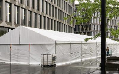 Unsere Zelte im Einsatz «ISS Schweiz»